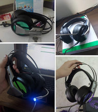 Load image into Gallery viewer, Gaming Headset w/ Mic 7.1 Surround Sound Noise Cancelling