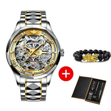 Load image into Gallery viewer, Automatic Mechanical Skeleton Watch
