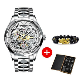 Automatic Mechanical Skeleton Watch
