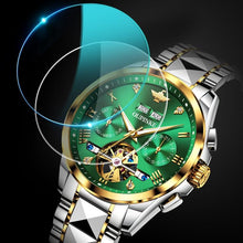 Load image into Gallery viewer, Luxury Automatic Sapphire Green