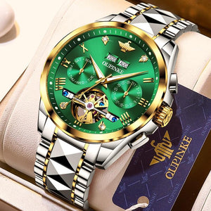 Luxury Automatic Sapphire Green
