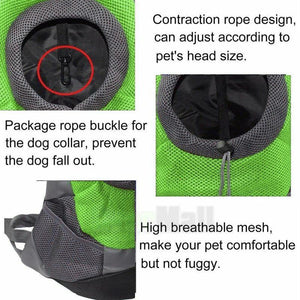 Mesh Doggo Backpack