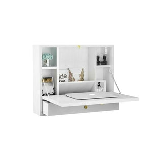 Hideaway Storage with laptop Shelf and Drawer