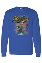 Load image into Gallery viewer, La Katrina Sugar Skull Long Sleeve