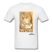 Load image into Gallery viewer, Hanes Doge Coin Tagless T-Shirt - white