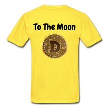 Load image into Gallery viewer, Hanes Doge Coin Tagless T-Shirt - yellow