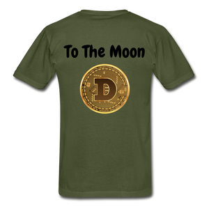 Hanes Doge Coin Tagless T-Shirt - military green