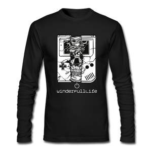 Gamer Boy Skull - black