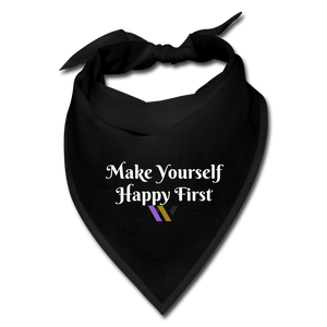 Happy Bandana - black