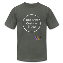 Load image into Gallery viewer, $1000 T-shirt - asphalt