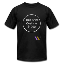 Load image into Gallery viewer, $1000 T-shirt - black