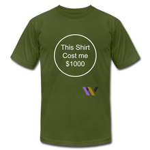 Load image into Gallery viewer, $1000 T-shirt - olive