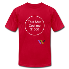Load image into Gallery viewer, $1000 T-shirt - red