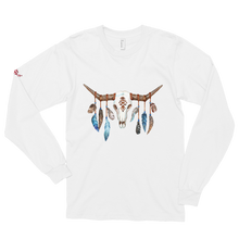 Load image into Gallery viewer, Native Skull Long sleeve t-shirt