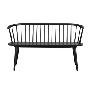 Furnish Our Home:Beco Living Scandi Kingswood Bench Black