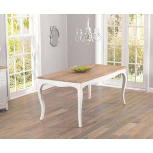 Furnish Our Home:Mark Harris Sienna 175cm White Dining Table