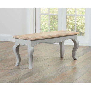 Furnish Our Home:Mark Harris Sienna Grey Bench (To Go With 175cm Table)