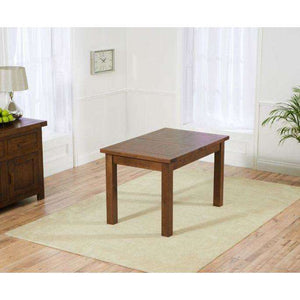 Furnish Our Home:Mark Harris Rustique Solid Oak Dining Table