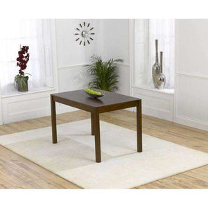 Furnish Our Home:Mark Harris Marbella 120cm Dark Solid Oak Dining Table