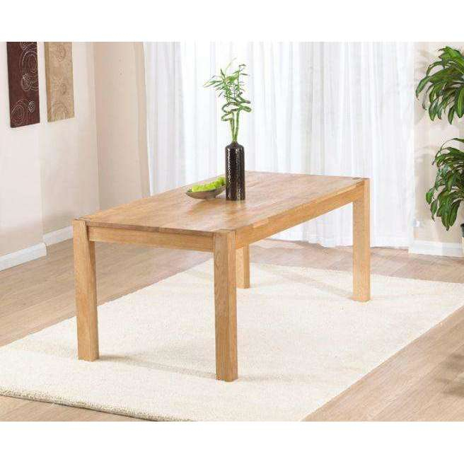 Mark Harris Verona Oak 180cm Table