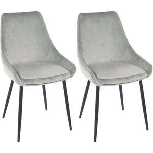 Furnish Our Home:Beco Living Scandi Oscar Chair Grey (Pair)
