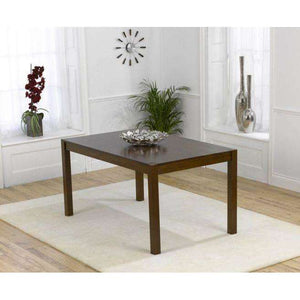 Furnish Our Home:Mark Harris Marbella 150cm Dark Solid Oak Dining Table