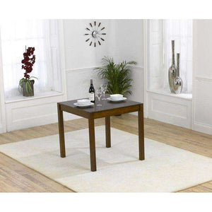 Furnish Our Home:Mark Harris Marbella 80cm Dark Solid Oak Dining Table