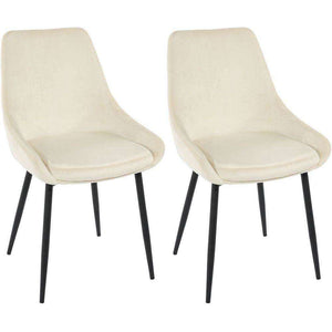 Furnish Our Home:Beco Living Scandi Oscar Chair Cream (Pair)