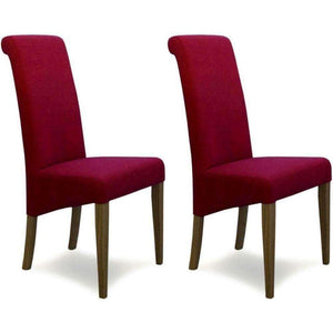 Furnish Our Home:Homestyle Italia Lipstick Fabric Chair (Pair)