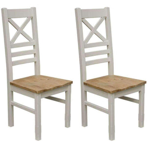 Furnish Our Home:Homestyle Painted Deluxe Newcross Chair (Pair)