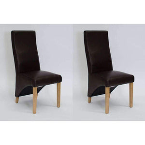 Furnish Our Home:Homestyle Wave Coco Dining Chair - Matt Bonded (Pair)