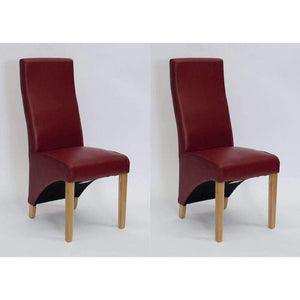 Furnish Our Home:Homestyle Wave Ruby Dining Chair - Matt Bonded (Pair)