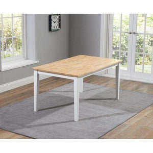 Furnish Our Home:Mark Harris Chichester 150cm Dining Table + 2 Large Benches - Oak & White