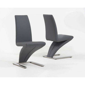 Furnish Our Home:Mark Harris Hereford Grey Dining Chairs (Pair)