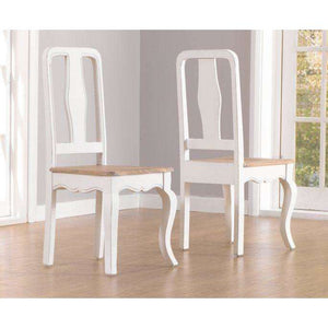 Furnish Our Home:Mark Harris Sienna White Dining Chair (Pair)