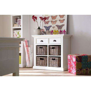 Furnish Our Home:NovaSolo Halifax Medium Sideboard with Basket Set