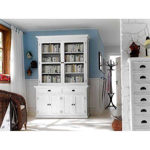 Furnish Our Home:NovaSolo Halifax Glass-Display Hutch Unit