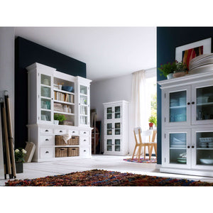 Furnish Our Home:NovaSolo Halifax Library Hutch with Basket Set