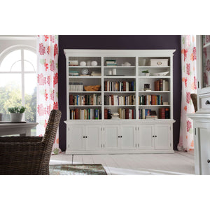 Furnish Our Home:NovaSolo Halifax Triple-Bay Hutch Cabinet
