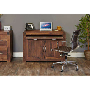 Furnish Our Home:Baumhaus Shiro Walnut Hidden Home Office Desk