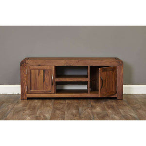 Furnish Our Home:Baumhaus Shiro Walnut Widescreen Television Cabinet