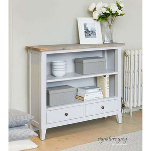Furnish Our Home:Baumhaus Signature Grey Low Bookcase