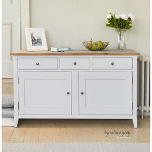 Furnish Our Home:Baumhaus Signature Grey Large Sideboard