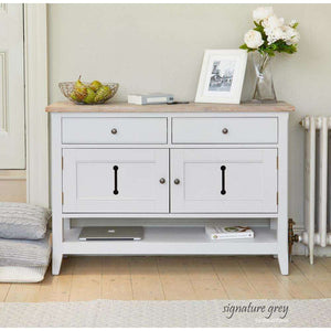Furnish Our Home:Baumhaus Signature Grey Small Sideboard / Hall Console Table