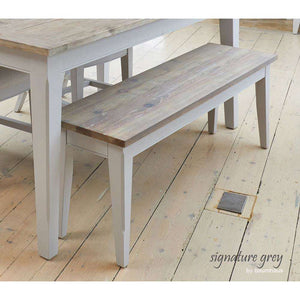 Furnish Our Home:Baumhaus Signature Grey Dining Bench (130)