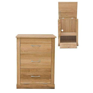 Furnish Our Home:Baumhaus Mobel Oak Printer Cupboard