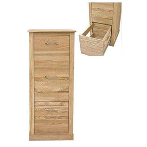 Furnish Our Home:Baumhaus Mobel Oak 3 Drawer Filing Cabinet