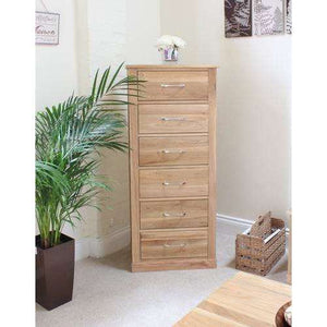 Furnish Our Home:Baumhaus Mobel Oak Tallboy (6 Drawer)