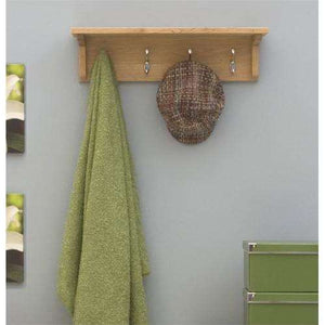 Furnish Our Home:Baumhaus Mobel Oak Wall Mounted Coat Rack