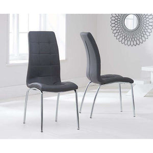 Furnish Our Home:Mark Harris California Dining Chair Grey (Pair)